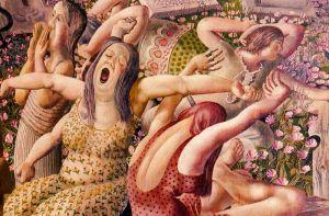 Resurrection (detail) Stanley Spencer